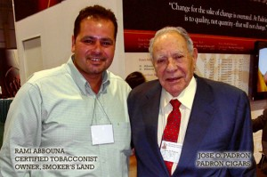 Rami Abbouna, Owner with Jose O Padron