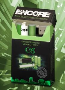 Encore E-Cig Starter Kit Menthol